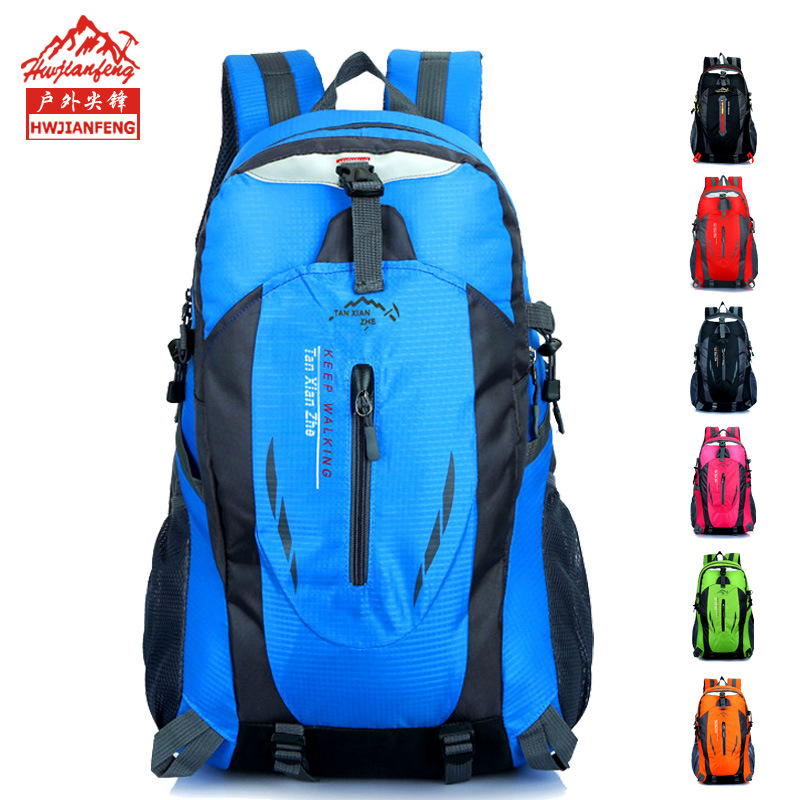 Cross Border New Style Fashion Outdoor Sports Travel Backpack Sports Casual Backpack Mountaineering Bag