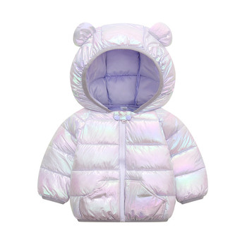 LZH 2020 Autumn Winter Newborn Baby Clothes For Baby Boys Jacket Baby Dinosaur Print Outerwear Coat For Infant Baby Girls Jacket 14