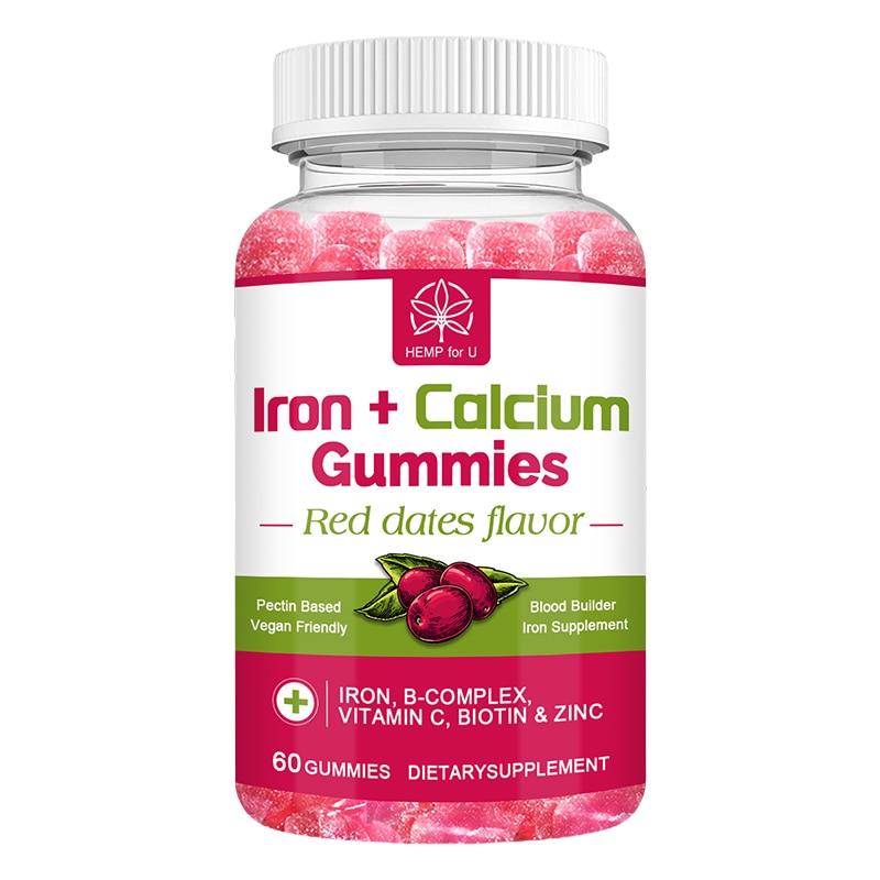 Iron + Calcium Gummies Vegan Supplement