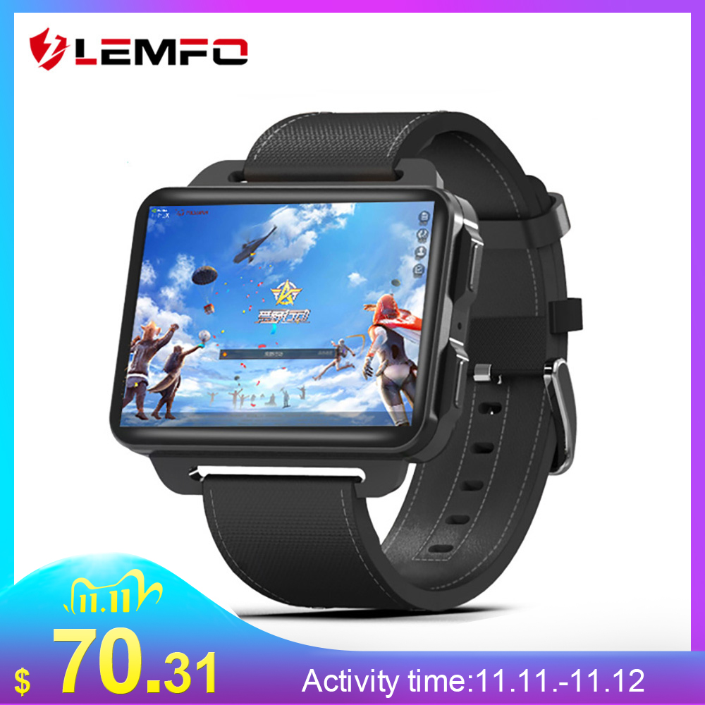 LEMFO LEM4 Pro 2 2 Inch Display 3G Smart Watch Android 5 1 1200 Mah Lithium Battery 1GB   16GB Wifi Take Video Replaceable Strap
