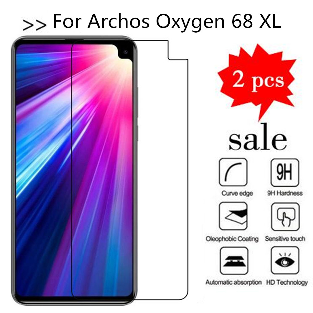 Tempered Glass For Archos Oxygen 68 XL Screen Protector Premiun Protection Film Case For Archos Oxygen 68 XL Tempered Glass