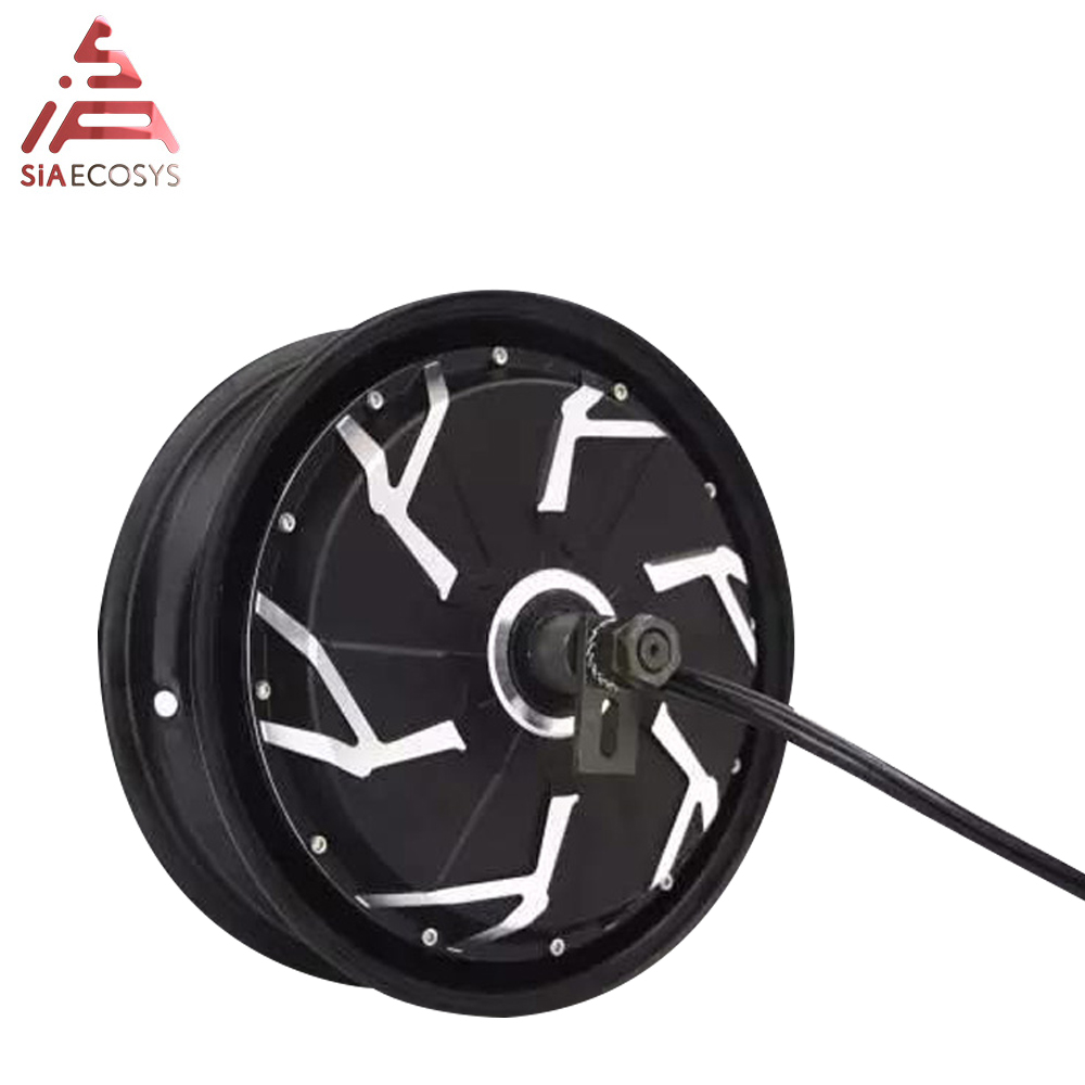 <font><b>QS</b></font> <font><b>Motor</b></font> 12*3.5inch <font><b>5000W</b></font> 260 V4 high effctive in wheel hub <font><b>motor</b></font> for ectric motorcycle and electric scooter image