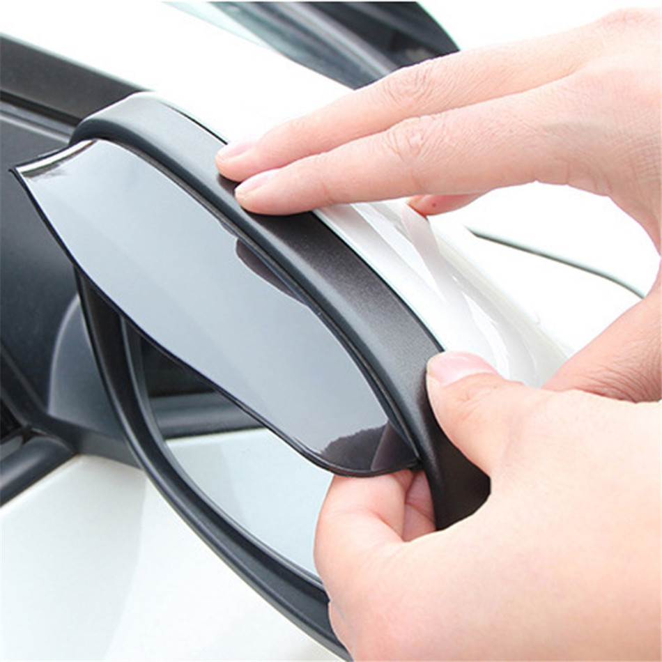 Rearview-Mirror Cover-Protector Auto-Mirror-Rain-Shield Rain Eyebrow Guard Shade New