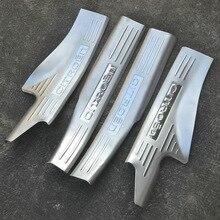 High quality stainless steel Scuff Plate/Door Sill Internal external for Citroen C5 2010-2016  Car styling