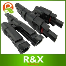 MC4 T branch solar connector. 10pairs/lot. Waterproof IP67. Solar Applicated for energy system.