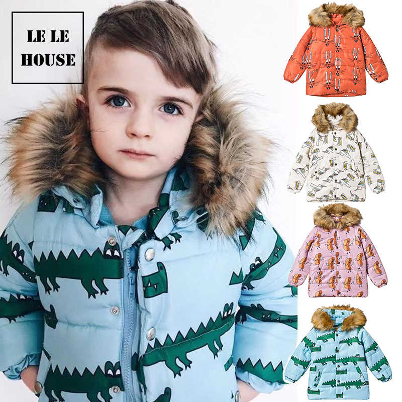 in stock hugo Toddler Girl Winter Clothes Christmas Kids Clothes Boys Snowsuit Boys Coats Winter Kids Down Coat with Hood