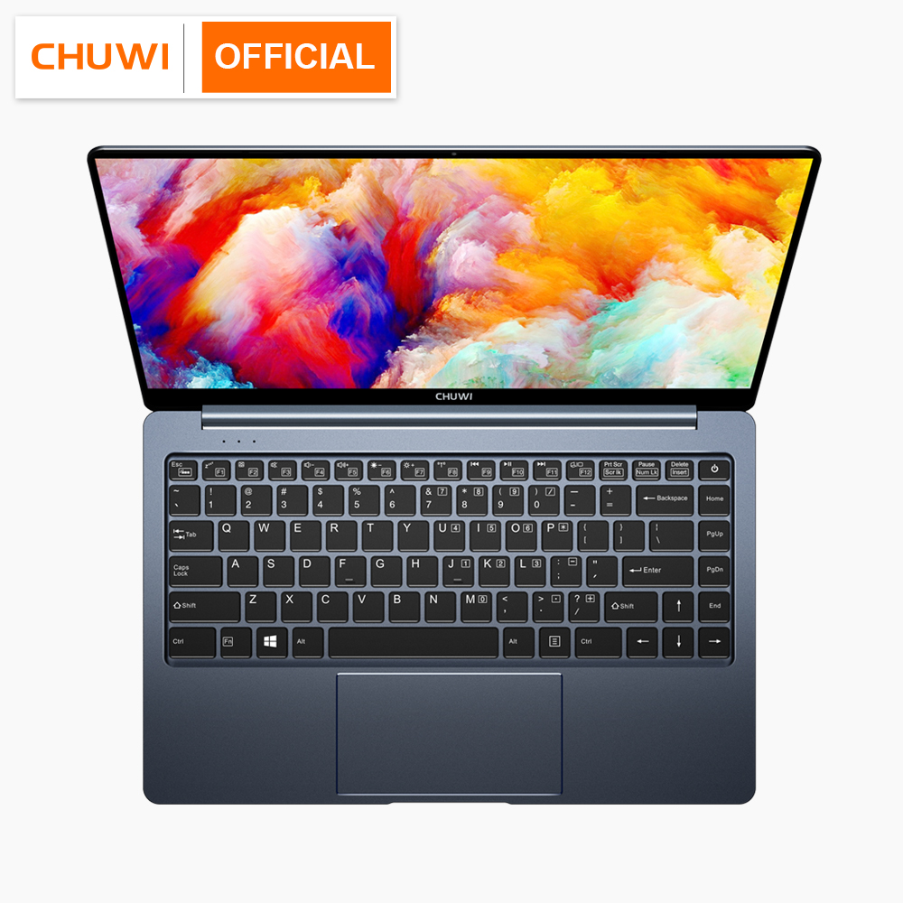 CHUWI Quad-Core Laptop Backlit-Keyboard SSD Intel Gemini-Lake N4100 Windows 10 8GB Pro title=
