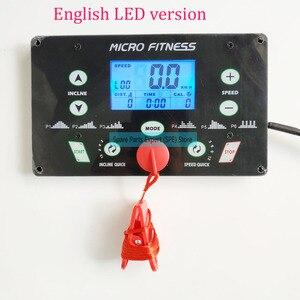 Image 3 - 一般的な使用ユニバーサルトレッドミル回路ボードトレッドミルモータ制御ボードコントローラ 1HP 4.0HP トレッドミルコンソールディスプレイ