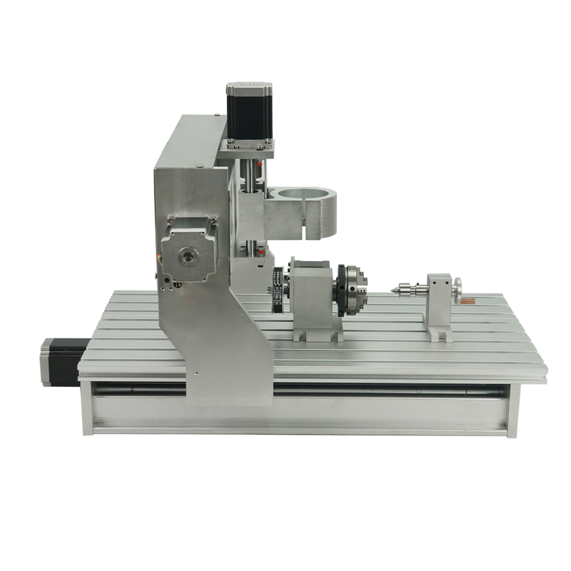 3040 CNC Router Frame Kit 3 4 Axis Aluminum Lathe Bed 1605 Ball Screw Engraving Machine With Stepper Motor