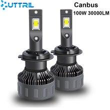 Uttril h4 h7 canbus светодиодный h1 h8 h9 h11 9005 hb3 9006
