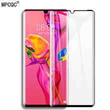 9D Full Cover Protective Glass For Huawei P30 Pro P30 Lite P30Pro Tempered Screen Protector Glass Film For Huawei Mate 20 Pro 10 Mate20 Pro P30 P20 Lite Scratch Proof Screen Protector Full Curved Edge Protective Glass цены