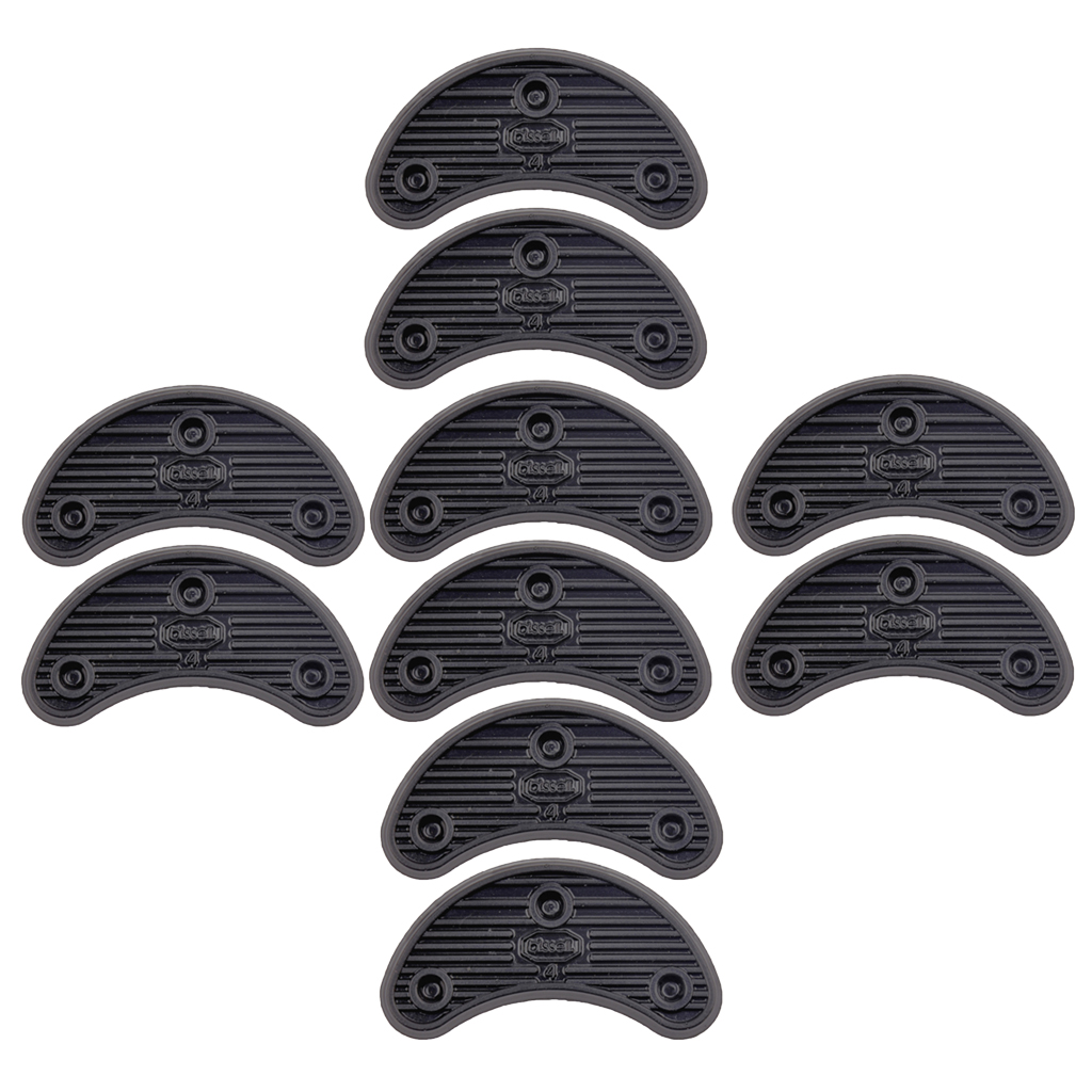 5Pairs Rubber Heel Savers Toe Plates Taps DIY Shoe Repair Supplies Thick 3mm