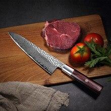 Cuchillo de cocina Damascus steel VG10, cuchillo de carnicero multiusos para cocina, rebanada de frutas y verduras kitchen knife paulina cocina paulina cocina en 30 minutos