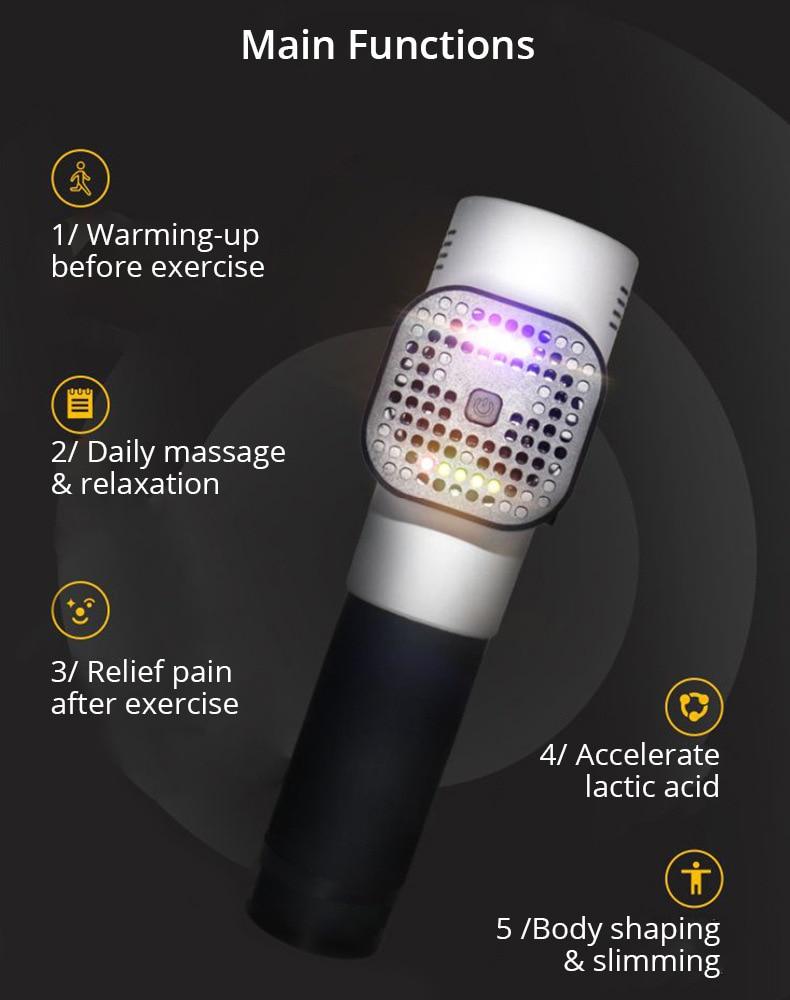 Tragbare Massagepistole Muskelentspannung