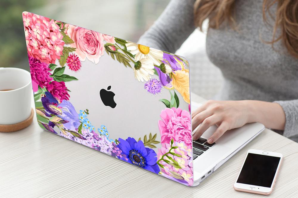Floral Case for MacBook 171