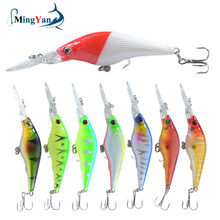 Hook Minnow Fishing-Lure Crankbait-Tackle Hard-Bait Artificial Pesca 1pcs 9cm Japan