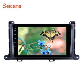 Seicane Android 8.1 9inch 2Din Car Stereo For Toyota Sienna 2009 2010 2011-2014 Head Unit GPS Player SWC Rearview Camera DVR image