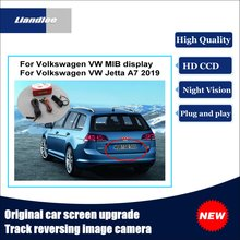 Liandlee Car Track Handle Camera For Volkswagen VW Jetta A7 2019 Original Screen Upgrade Reversing Plug