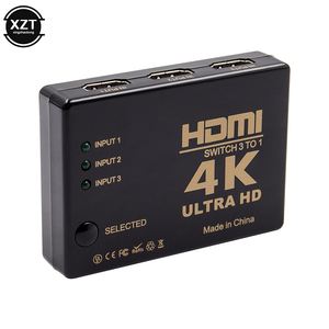 Image 5 - Mini HDMI Switcher 4K HD1080P 3 5 Port HDMI Switch Selector Splitter With Hub IR Remote Controller For HDTV DVD TV BOX Z2