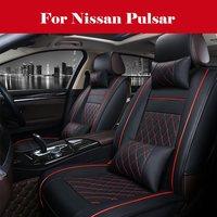 high quality 2020 New Custom Leather Four Seasons Car Seat Cover Cushion For Nissan Pulsar