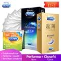 Preservativos durex retardados seguros prolongados ultra finos pequenos preservativos 49mm látex natural lubrificado preservativo contracepção produtos sexuais