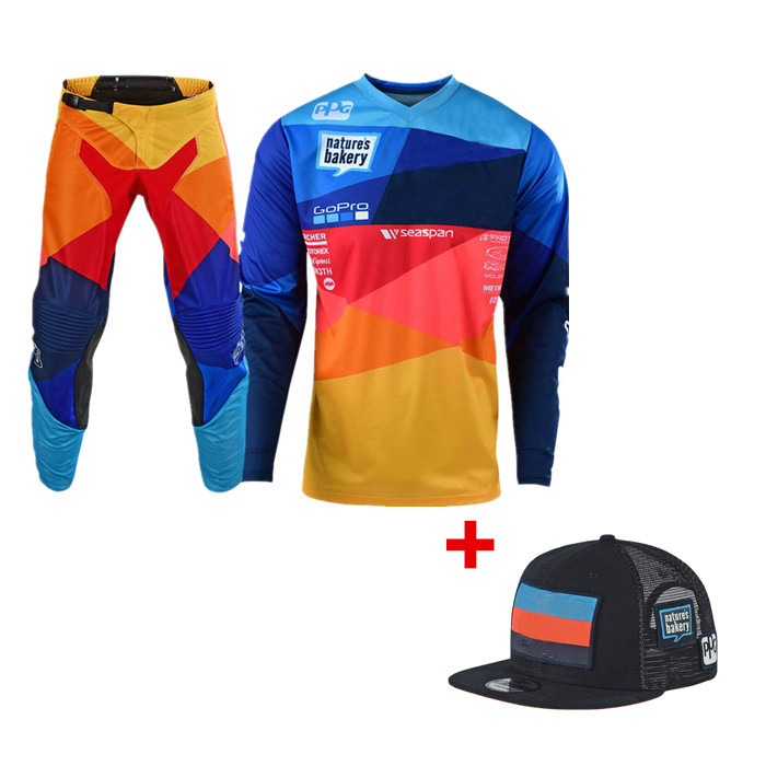 2019 Stream Fox Motocross Gear Set ATV MX Moto Combos Off Road Motorcycle Jersey And Pant