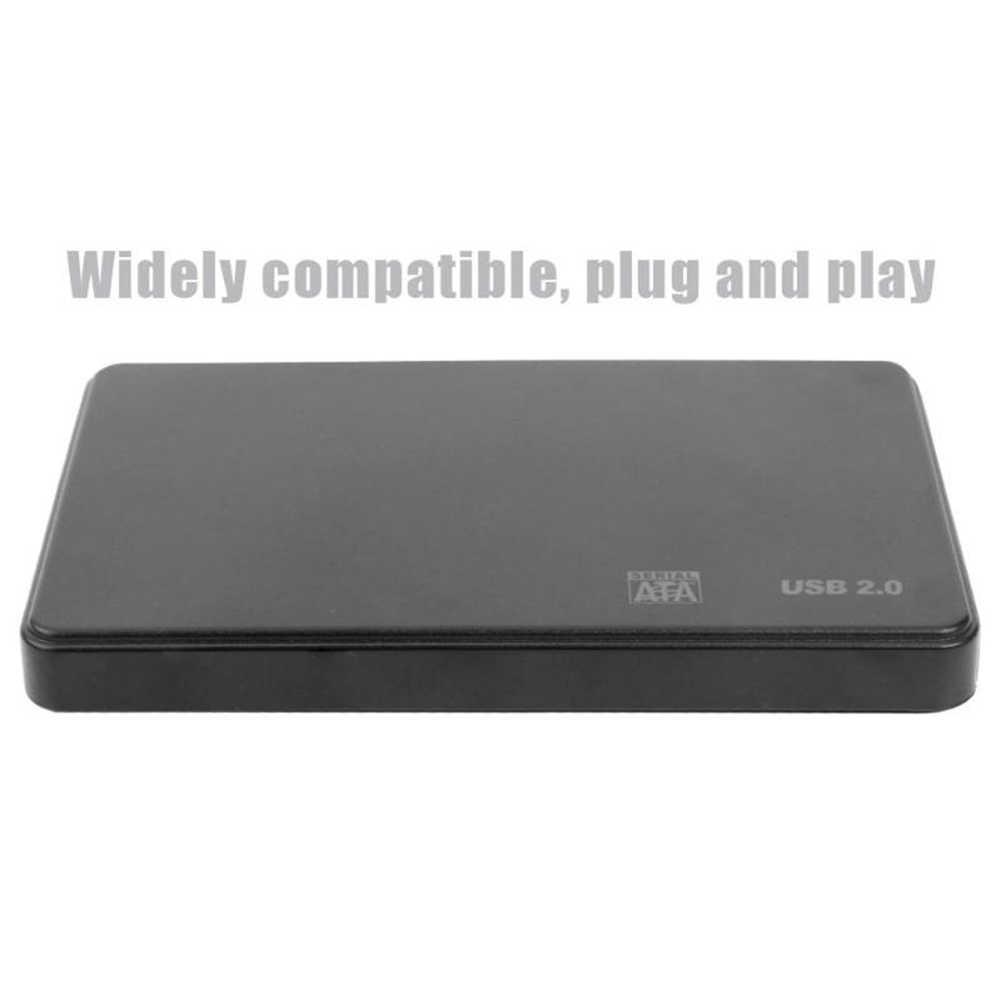 2.5-inch HDD SSD Case Sata naar USB 3.0 2.0 Adapter biedt 5 6 Gbps Doos Hdd 'S voor gratis, 2TB HDD schijven voor Windowss M ac OS