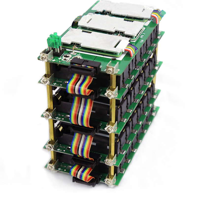 Lithium Battery Pack Welding-free Battery Management System Bms Protection Board Battery Box 18650