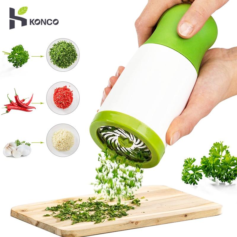 Kitchen Tool Fruit Vegetable Cutter Herb Grinder Spice Parsley Shredder Chopper