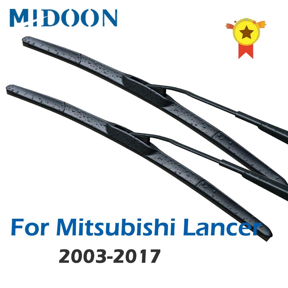 Mitsubishi Colt 2004 Onwards BOSCH Front /& Rear Windscreen Wiper Blades