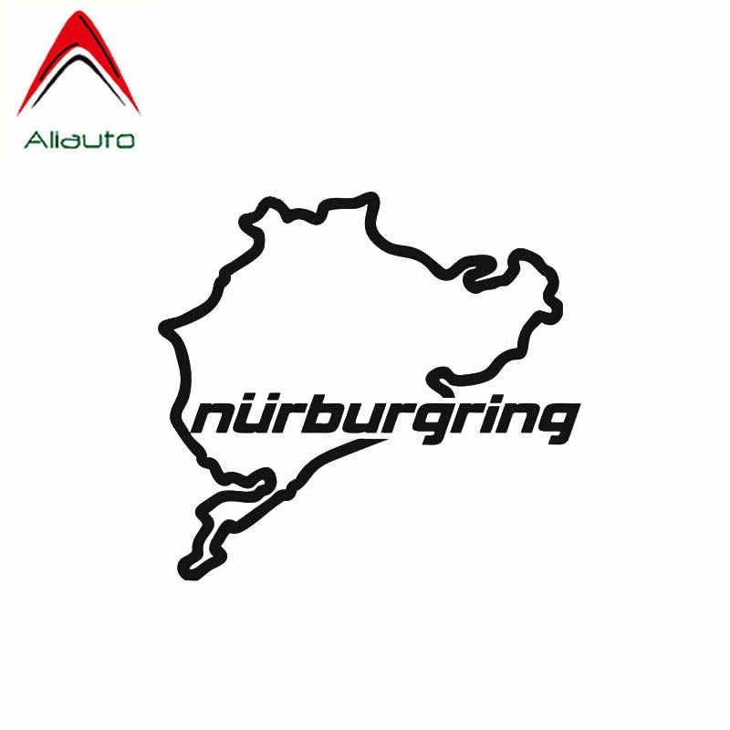 Aliauto Creatieve Mode Auto Sticker Racing Road Racing Nurburgring Waterdicht Vinyl Sticker voor Motorfiets JDM Suzuki, 14cm * 12cm