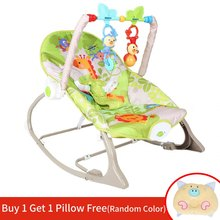 Eletric Baby Cradle Swing Reborn Rocking Chair with Music Multi-function Baby Bouncer hamaca bebe Cradle Kids Portable Rocker(China)