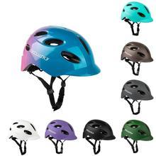 EXCLUSKY lekki kask rowerowy z LED światło rowerowe kask elektryczny kask rowerowy górska droga rowerowa MTB kask kask rowerowy Li tanie tanio NONE (Dorośli) mężczyzn CN (pochodzenie) 340g 8-15 23013212 Cycling Helmet Unisex with Ventilation Holes Shock-Absorbing with Light