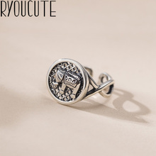Retro Vintage Silver Color Elephant Rings For Women Girls Valentines Gifts Gothic Gothic