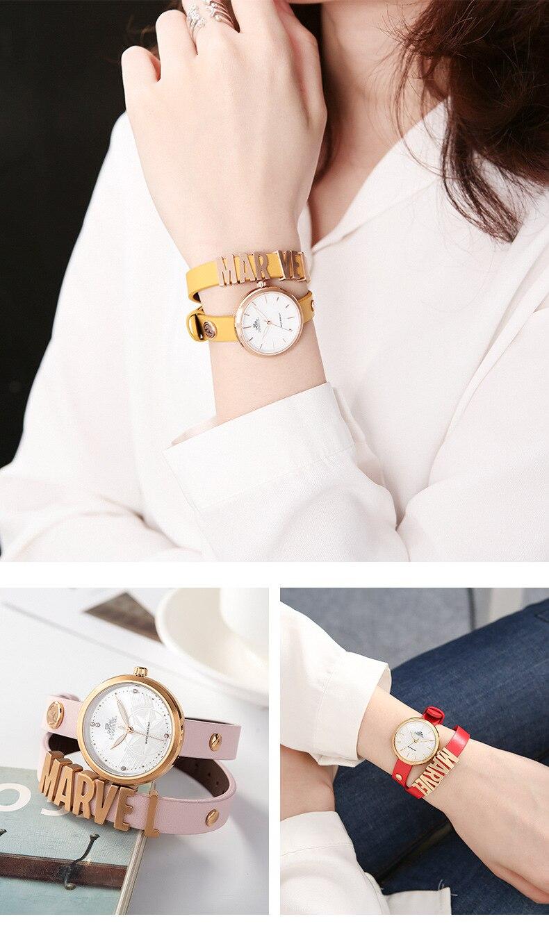 herói pulseira relógio senhoras resistente à água 3bar