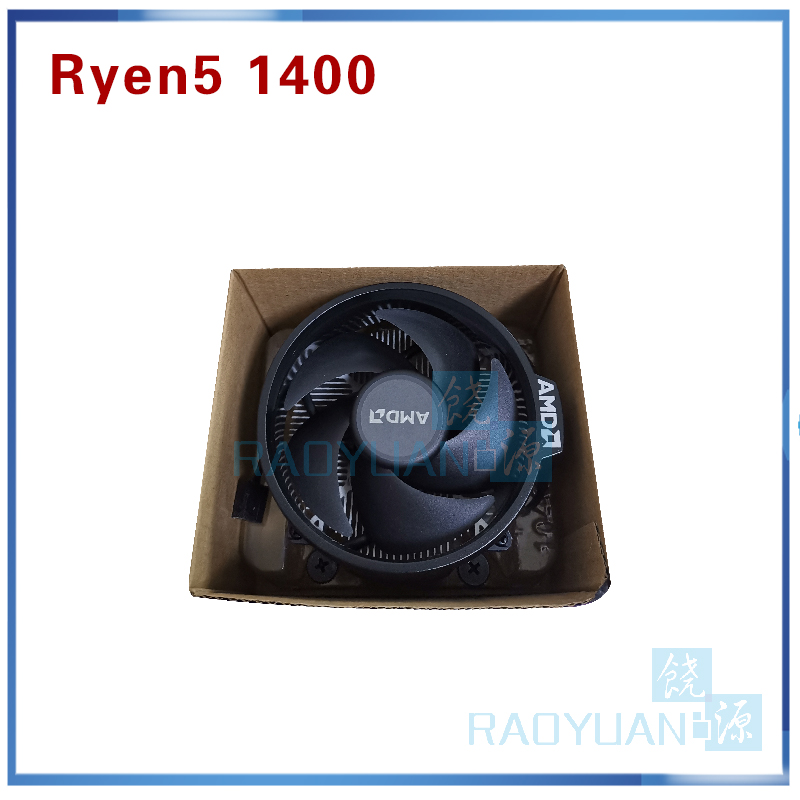 Image 5 - New AMD Ryzen 5 1400 R5 1400 R5 1400 3.2 GHz Quad Core CPU Processor YD1400BBM4KAE Socket AM4 with cooling fan-in CPUs from Computer & Office