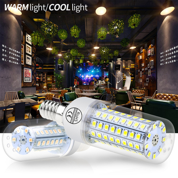 WENNI Corn Bulb LED E27 220V Bombillas E14 LED Lamp 3W 5W 7W 9W 12W LED Candle Light Bulb 240V Ampoule Chandelier Lighting 2835 10x e27 led lamp 220v 5w 7w 9w warm cool white led corn led lamps lampada chandelier crystal candle lighting home decoration