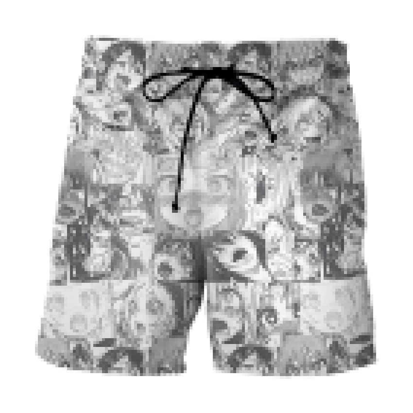 Lustige Öffnen Mund Ahegao 3D Druck männer Strand hosen Sommer herren sea surfen hosen schwarz und weiß Casual shorts für Männer/Frauen