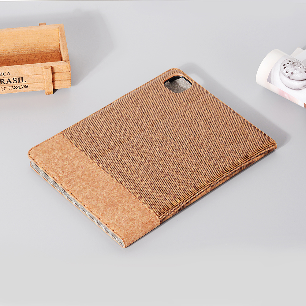 Case iPad 2020 2020 Brown For Pro Tablet iPad Series Back Cover 9 PU Pro Business For 12