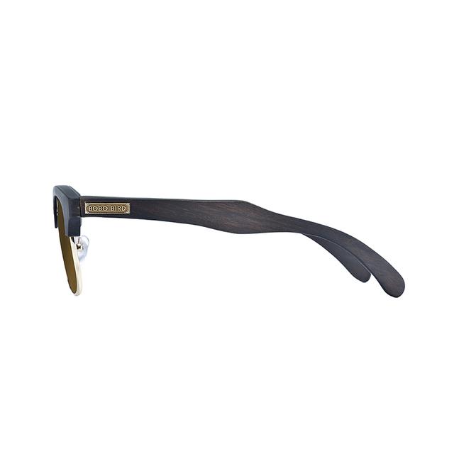 BOBO BIRD Sunglasses Women Men Polarized Wood Metal Frame Sun Glasses UV400 Eyewear okulary przeciwsloneczne damskie in gift Box