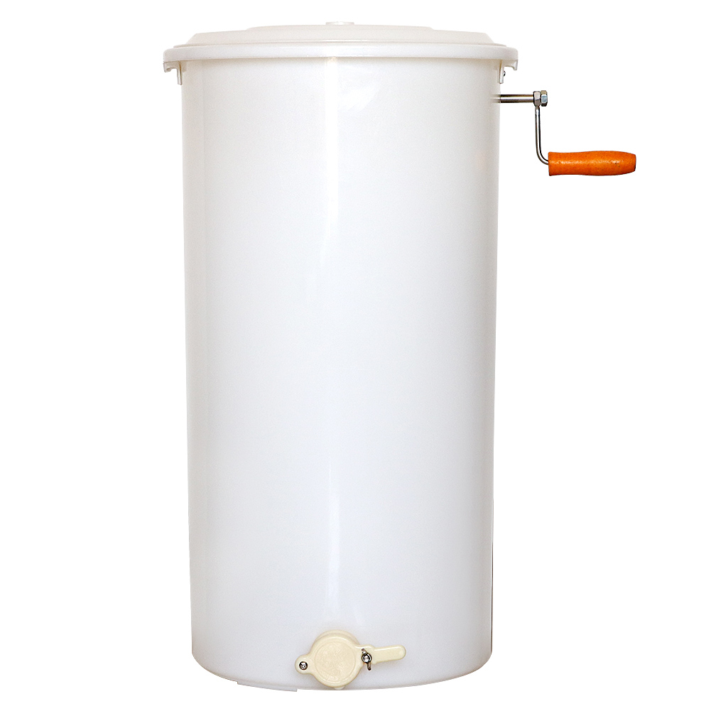 Honey Extractor Food Grade Plastic Two 2 Frame Tangential Manual Crank Spinner Beekeeping Easy To Clean Easy Pour Gate