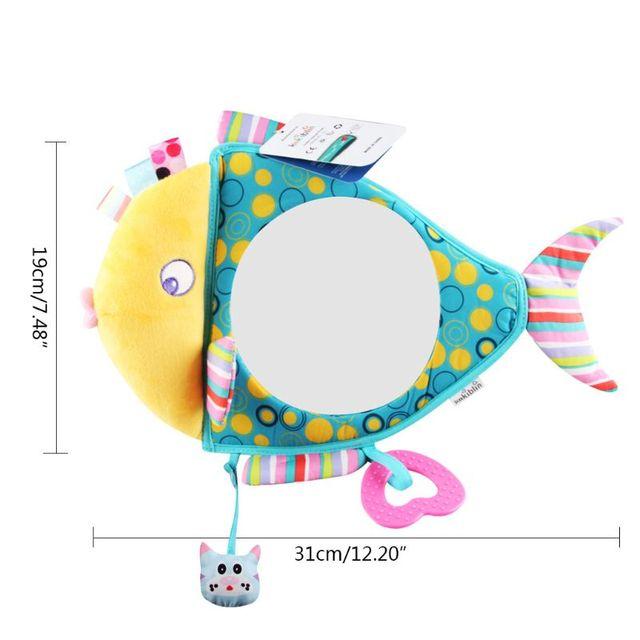 Фото автомобильное зеркало заднего вида детские подвесные игрушки цена