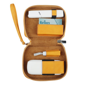 Image 5 - PU حقائب ل IQOS 3.0 DUO مع الحبل متعددة الوظائف أكياس التخزين ل IQOS متعددة الكل في واحد غطاء الحقيبة ل Ecig اكسسوارات