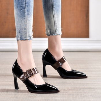 sexy high heels fashion women high heel shoes pointed toe girls party wedding shoes spring summer women pumps office lady shoes
