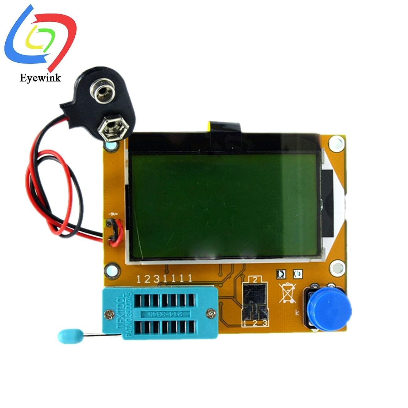 2019  Digital Component Transistor Tester ESR LCR Meter Diode Triode Capacitance