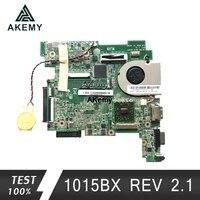 Płyta główna laptopa Akemy 1015BX dla Asus Eee PC 1015BX płyta główna REV 2.1G w pełni przetestowana bez radiatora 2GB C60 CPU w Płyty główne od Komputer i biuro na
