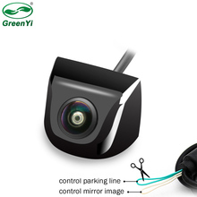 170 degrés Starlight Vision nocturne Sony/CCD Fisheye lentille voiture recul caméra de recul pour moniteur de véhicule Android DVD
