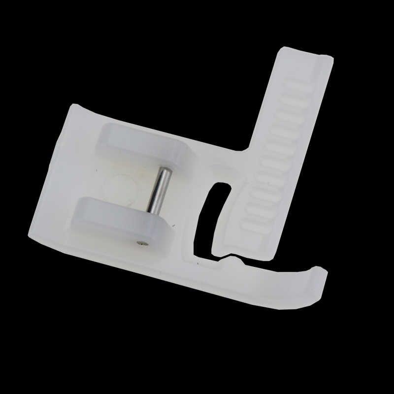 1 paquete de máquina de coser para el hogar Invisible Plastic Presser pie con Zipper Singer Brother General