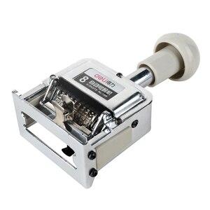 Image 1 - Dl power 7508 máquina automática 8 número manual máquina digital rotação selo numeração whosale equipamentos de ensino para escritório
