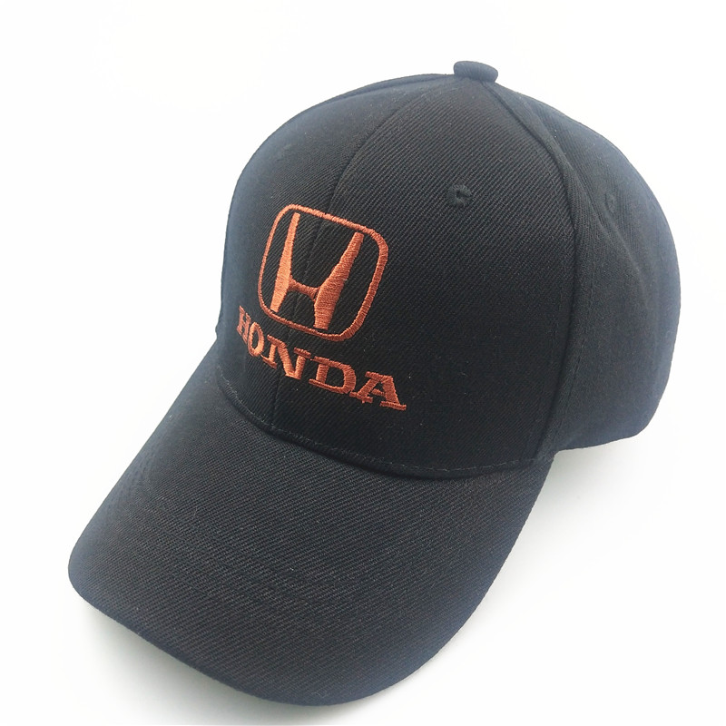 Unisex Cotton Car Logo Performance Baseball Cap Hat For Honda Accord FIT CITY CRV Motorcycle Car Styling Accessories